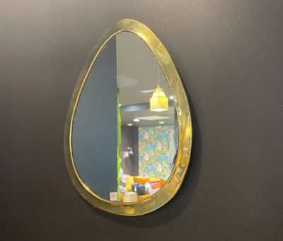 "Miroir ""Œuf"" bord large"