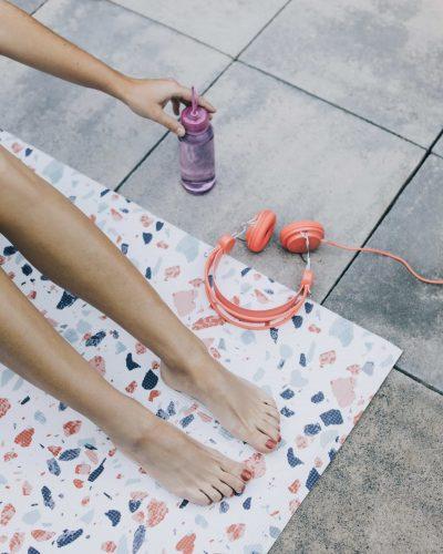 Tapis de yoga – Terrazo