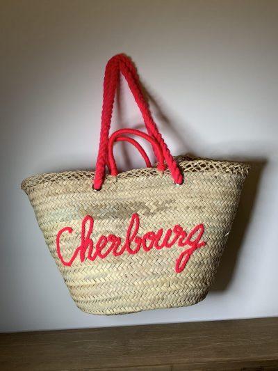 "Panier ""Cherbourg"" rose"