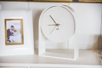 Horloge Air du Temps blanche