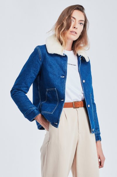 Veste canadienne  denim