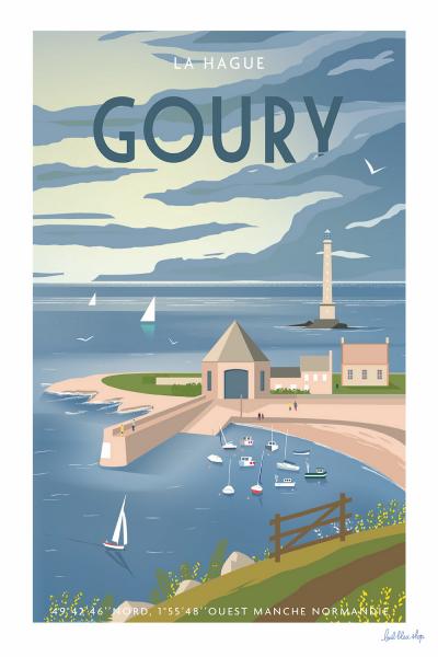 """Affiche """"Goury"""" 50×70"""