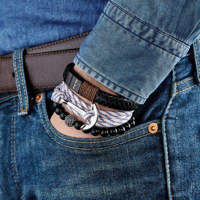Bracelet Balard – cuir