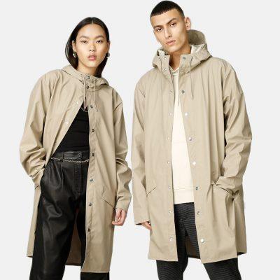 "Rains ""Long Jacket"" beige"