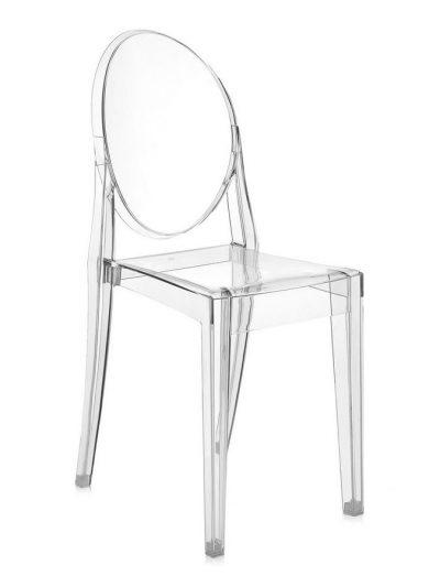 "Chaise Victoria Ghost ""cristal"""