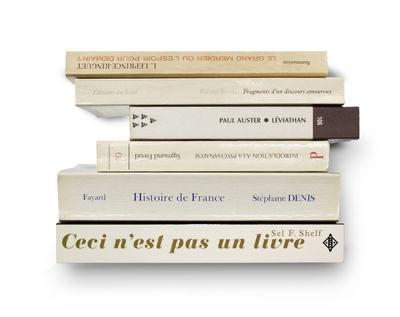 """2- Etagère """"Ceci n'est pas un livre"""""""