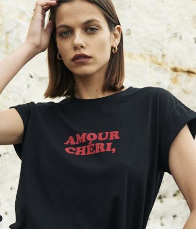 "Tee-shirt ""Amour chéri"""