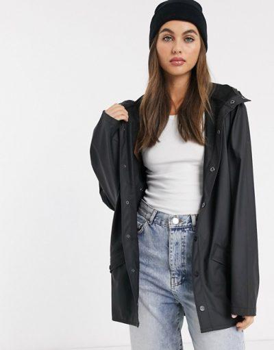"""Rains """"Short Jacket"""" noir"""