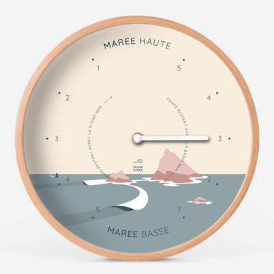 """Horloges des marées """"Sunset"""""""
