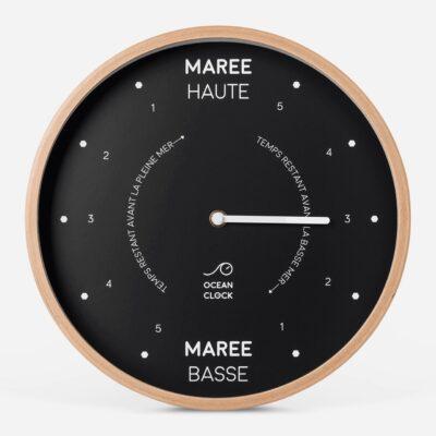"Horloge des marées ""Black"""