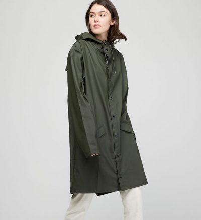 "Rains ""Long Jacket"" kaki"