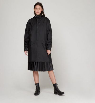 "Rains ""Long Jacket"" noir"