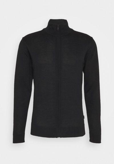 Cardigan à zip noir