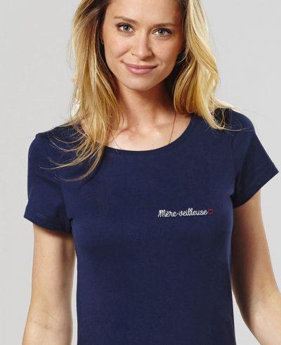 T-shirt – Mère-veilleuse (brodé)