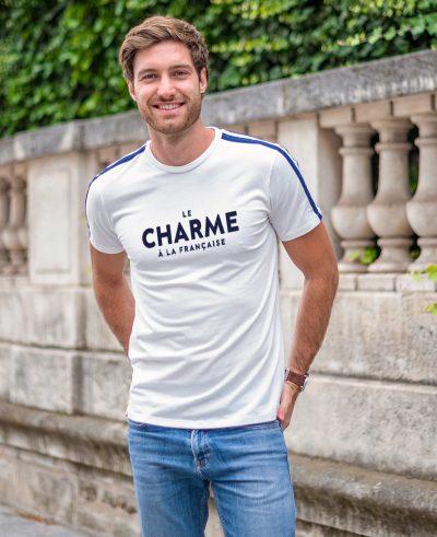 """T-shirt """"Le charme à la française"""""""