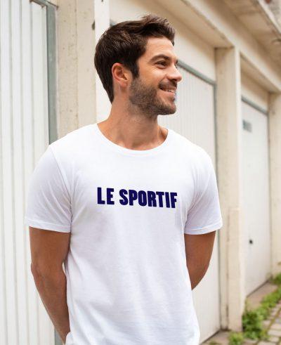 """T-shirt  """"Le sportif"""""""