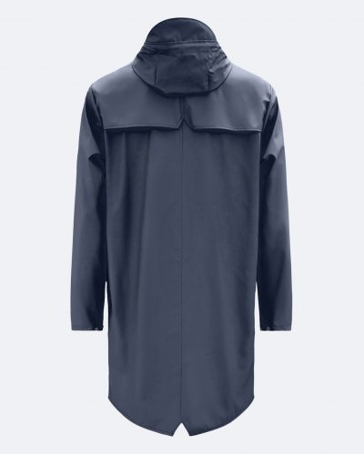 "Rains ""Long Jacket"" bleu marine"