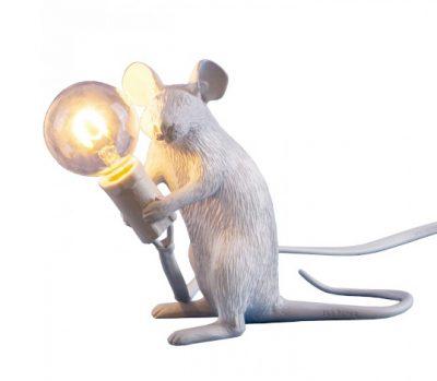 Lampe de table mouse – souris assise