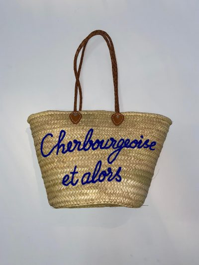 """Panier """"Cherbourg bleu """""""