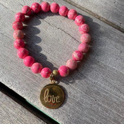 "Bracelet Holbox ""love rose"""