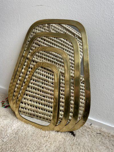 "Miroir ""Rectangulaire"" bord large"