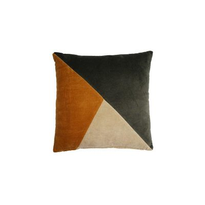 Coussin Athezza titra moutarde – 45×45