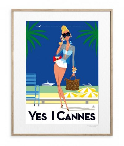 "Affiche "" Yes I Cannes"""