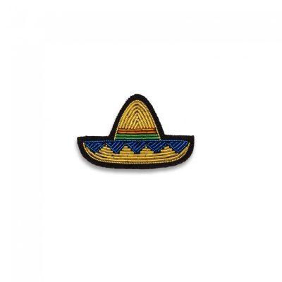 """Broche """"Mini sombrero doré"""""""