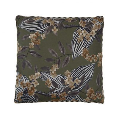 "Coussin "" Aida printed Cushion army"""