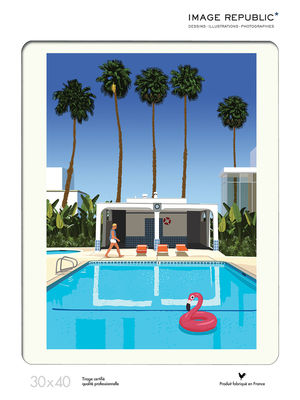 "Affiche "" Palm Springs """