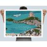 """Affiche """" Baia de Guanabara"""""""