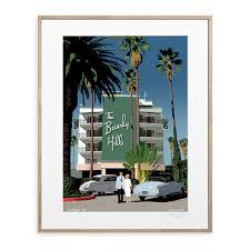 """Affiche """" Beverly Hills"""""""