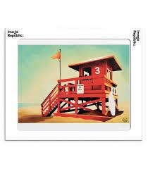 """Affiche """" Santa Monica"""""""
