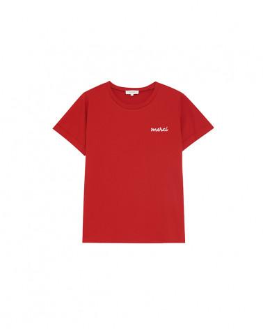 "Tee-shirt ""billy"" brique"