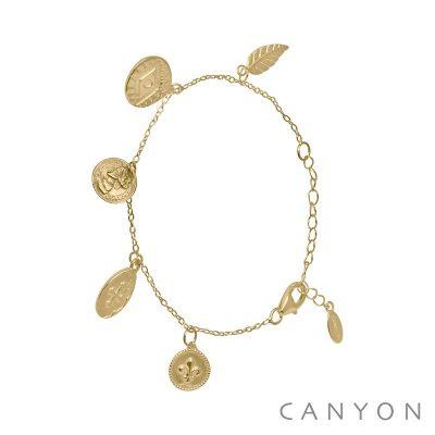 Bracelet laiton doré