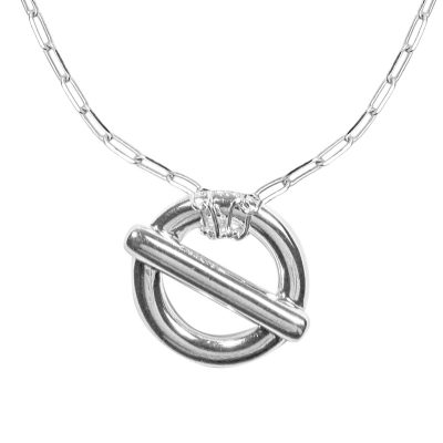 """Collier argent """"Hector"""""""