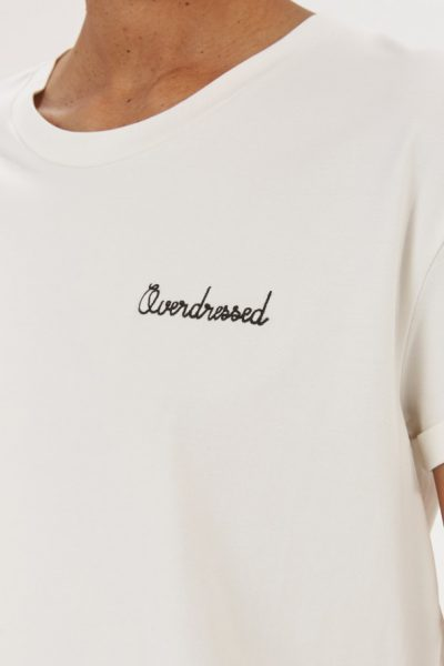 "Tee-shirt ""Overdressed"""