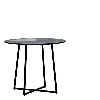 Table basse en verre Glendale 60cm