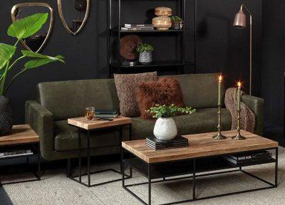 Table basse en chêne alicante
