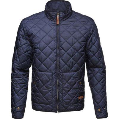 Veste Reversible Matelassée Knowledge apparel cotton Bleu marine