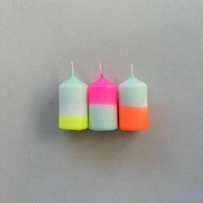 Bougies rainbow
