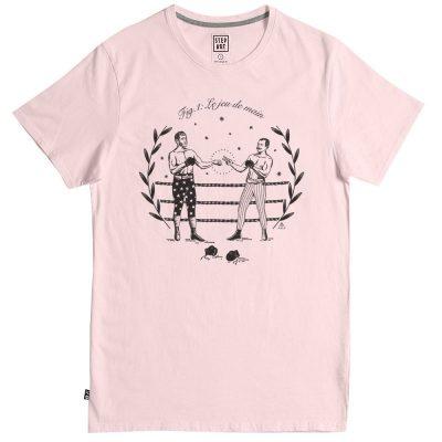 "tee -shirt step art ""Jeu de main"""
