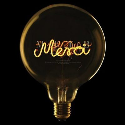 """Ampoule """"merci"""""""